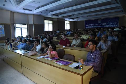 Short course in Smart Phone Film Making organised by IIMC