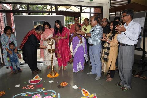 IIMC family celebrated the festival of light with great joy and zeal