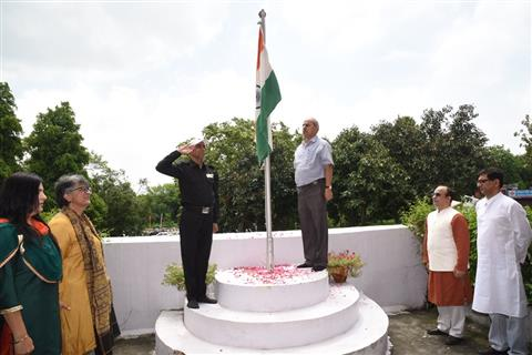 Independence Day was celebrated at IIMC with patriotic fervor and enthusiasm