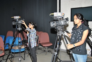 Video Studio:Indian Institute of Mass Communication